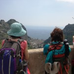 Valle delle Ferriere vista da Pontone - Scala