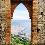 La Cornice del Principe, all'interno della Quale si incastona la città di Salerno