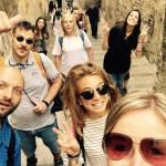 Il Gruppo alla partenza Dell'Escursione nei pressi del Duomo di Salerno